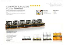 Laboratory heaters and classic apparatus - 2