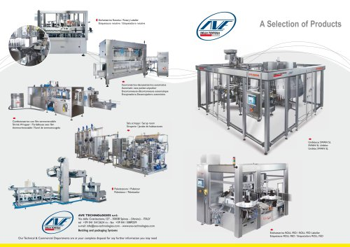 AVE Technologies - selection of products