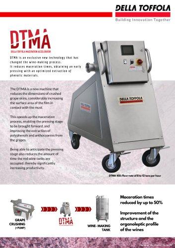 DTMA maceration acceleratore
