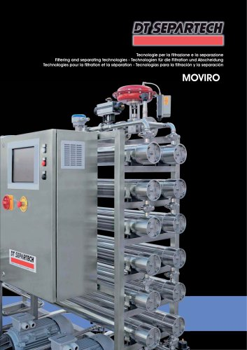 Filtering and separating technologies MOVIRO