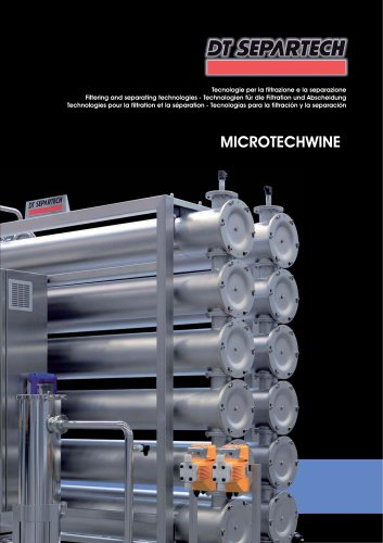 Filtering and separating technologies MTW