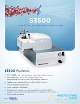 S3500 Laser Diffraction Particle Size Analyzer