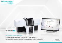 SYNC Particle Size & Shape Analyzer