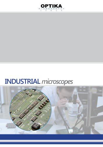 """Industrial microscope"" Brochure"