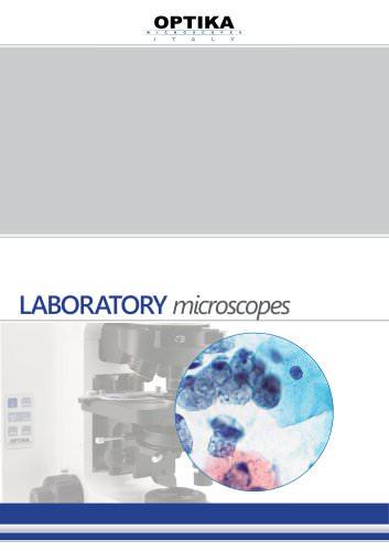 """Laboratory microscope"" Brochure"