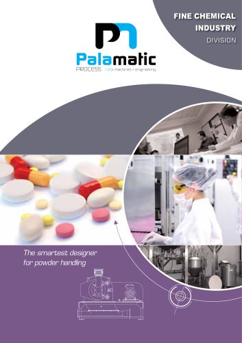 Palamatic Process   Fine Chemical Industry Division