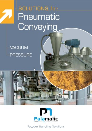 SOLUTIONS for Pneumatic Conveying