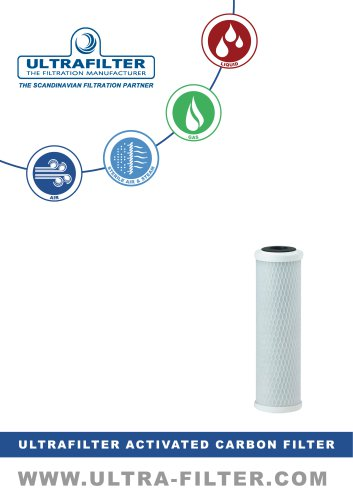 ULTRAFILTER ACTIVATED CARBON FILTER