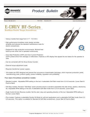 E-DRIV® BF-Series