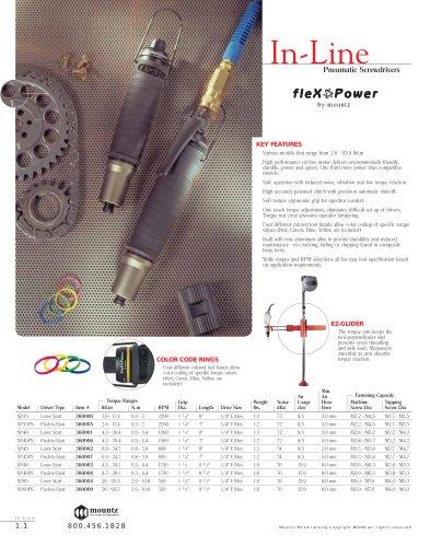 Flex Power In-Line Air Screwdriver