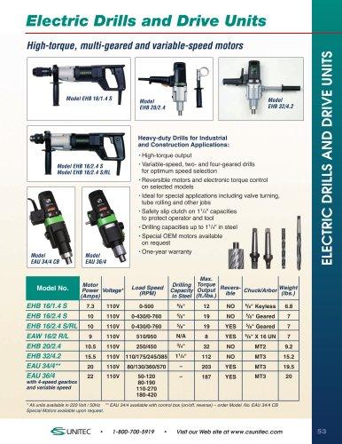 Drills & Drive Units