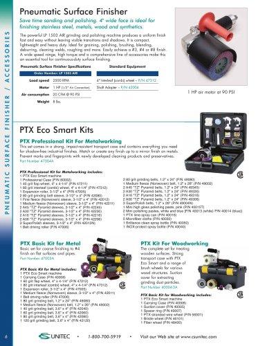 CS Unitec 46400 PTX Fiber Wheel 4 Diameter x 4 Wide Elastic Fiber Brush