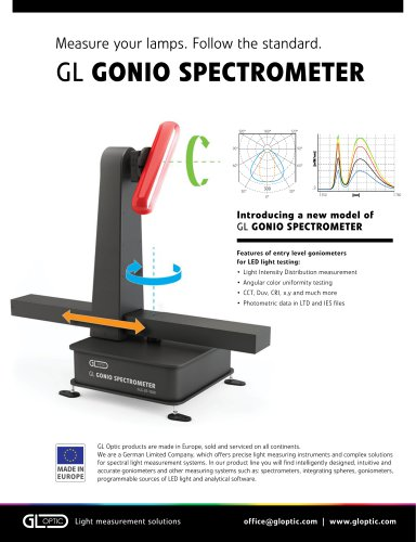 GL Gonio Spectrometer GLG 2-300