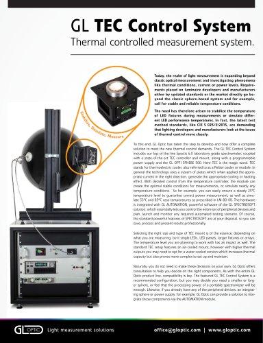 GL TEC Control System