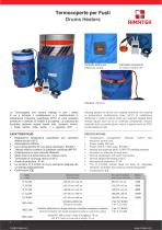 Heating jackets for can and drums