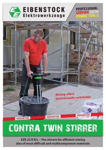 Contra twin stirrer EZR 23 R R/L