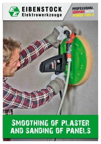 Plaster smoothing
