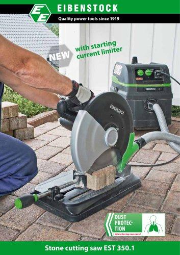 Stone cutting saw EST 350.1 for dry cutting
