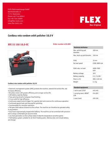 XFE 15 150 18.0-EC