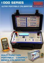 1000 series ultra portable calibrator