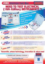17th EDITION ELECTRICAL CHECK BOX MODEL 2080
