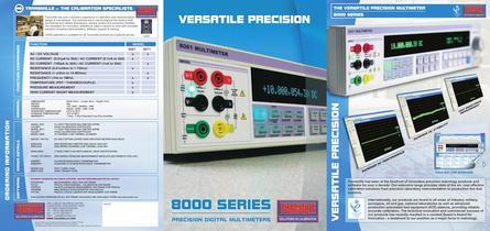 4PPM PRECISION DIGITAL MULTIMETER MODEL 8081