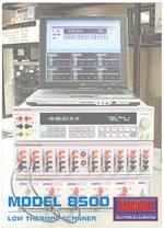 LOW THERMAL 10-CHANNEL SCANNER MODEL 8500