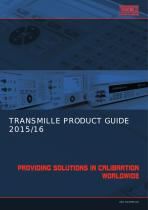 TRANSMILLE PRODUCT GUIDE 2015/16
