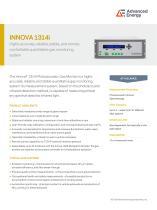Innova 1314i Gas Monitor Datasheet