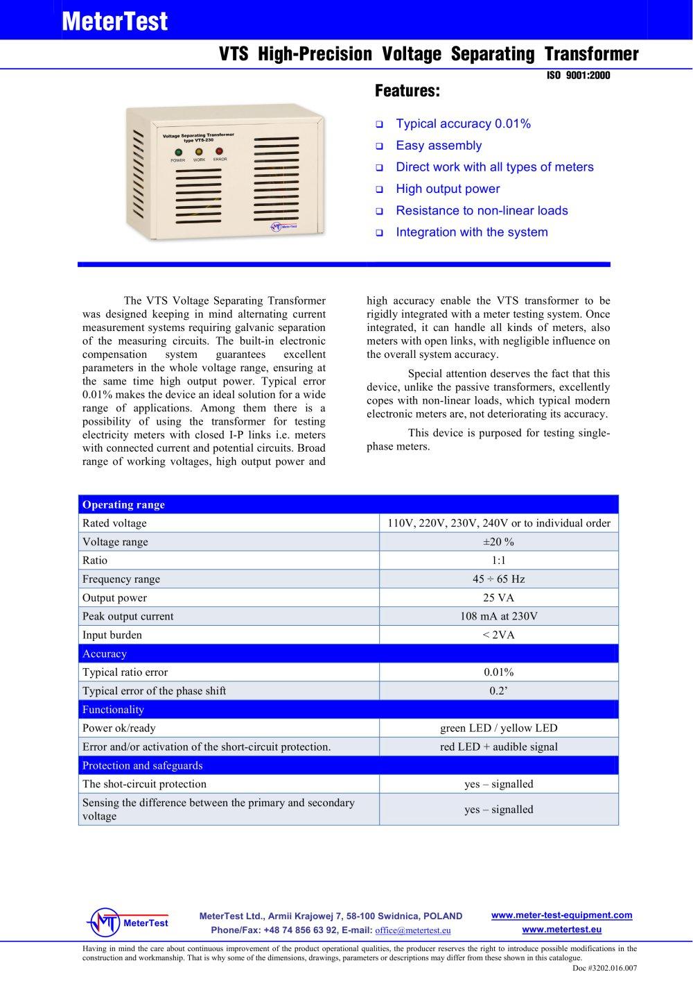 Transformer Testing Pdf
