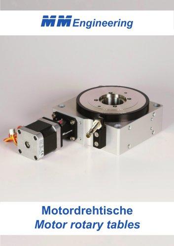 Motor rotary tables