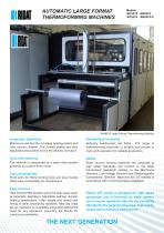 Large Format Automatic Thermoforming Machine (ATF)