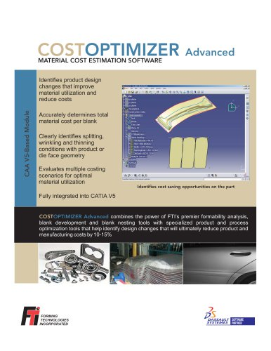 CATIA COSTOPTIMIZER Advanced
