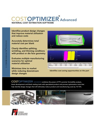 COSTOPTIMIZER Advanced