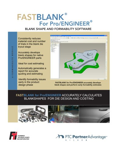 FASTBLANK for Pro/ENGINEER