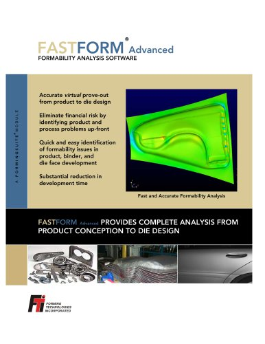 FASTFORM Advanced