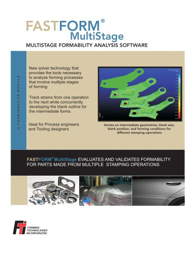 FASTFORM Multistage