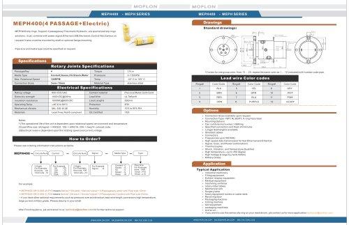4 passage way Pneumatic/Hydraulic rotary joint