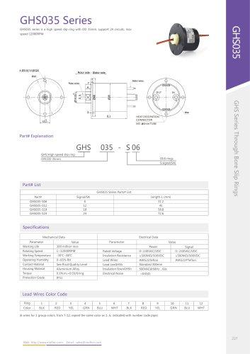 GHS035 Series