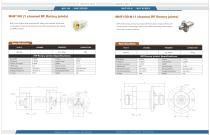 MHF Series Catalog  (RF Rotary joints/High frequency,Up to 18GHZ)