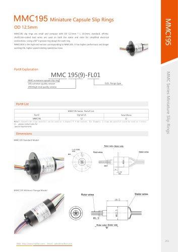 Military slip ring MMC195 series