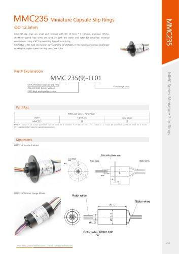 Military slip ring MMC235 series
