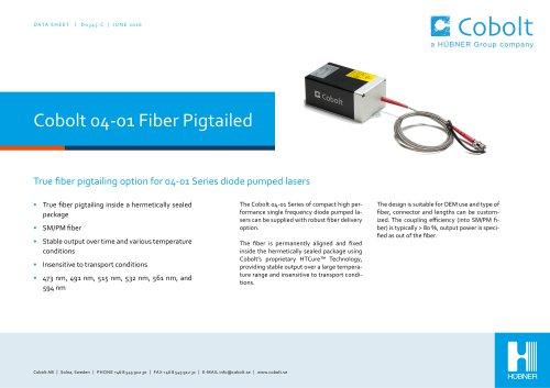 Cobolt 04-01 Series Fiber Pigtailed lasers