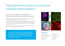 Cobolt High Performance Lasers - 2
