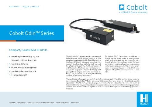 Cobolt Odin™ Series