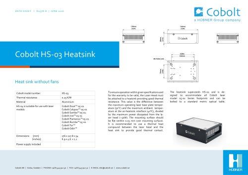 HS-03 Laser Head Heatsink (passive)