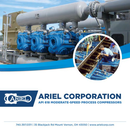 Process Gas Compressors - Ariel - PDF Catalogs   Technical