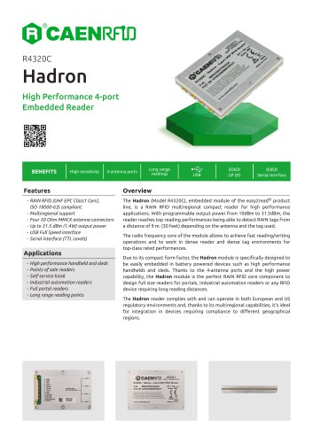 Hadron Datasheet