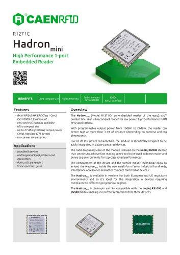 Hadron Mini Datasheet
