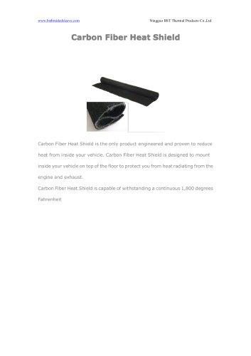 BSTFLEX Carbon Fiber Heat Shield for heat resistant